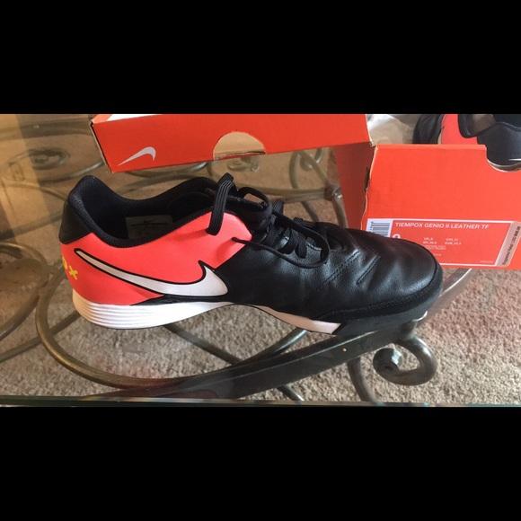 a25e04f1c Nike Shoes | Tiempox Genio Ii Leather Turf Soccer Shoe | Poshmark